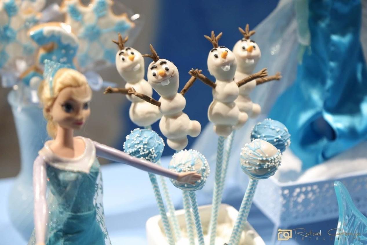 cake pop Olaf