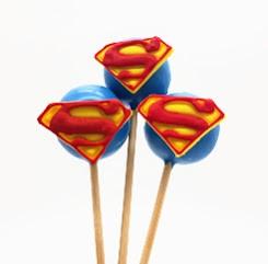 Cake Pop Super Homem