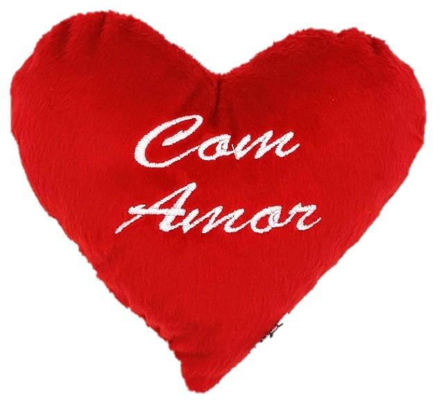 Coração de Pelúcia M -com amor