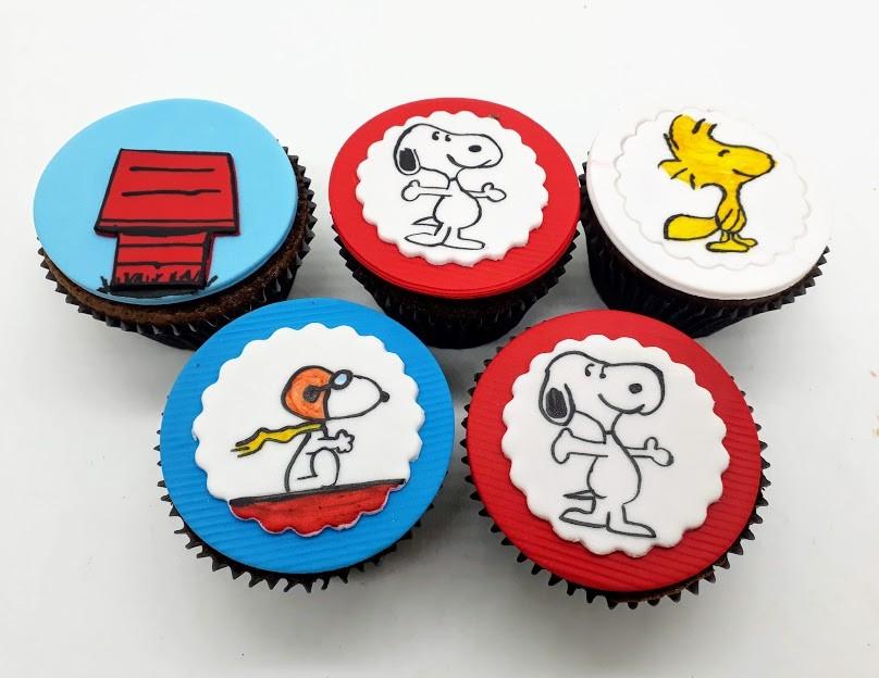 Cupcake Snoopy
