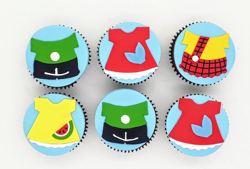 Cupcake Turma da Mônica