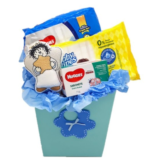 Caixa do Bebê Azul