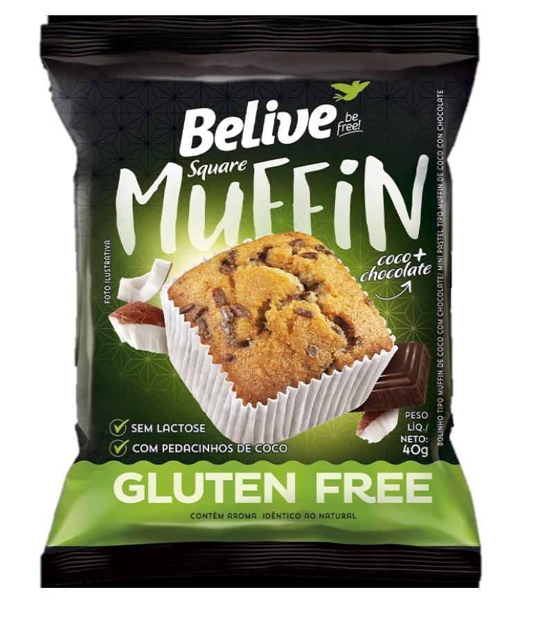 Muffin sem glúten e sem lactose40g