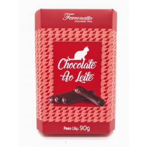 Língua de Gato Chocolate ao Leite