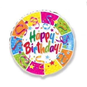 Balão Metalizado - Aniversário