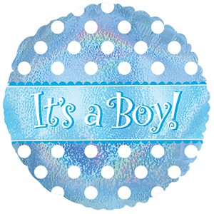 Balão Metalizado - Baby Boy