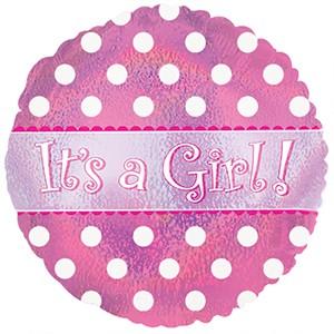Balão Metalizado - Baby Girl