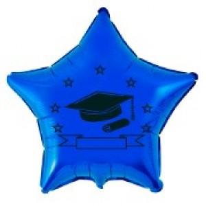 Balão Metalizado - Formatura Azul