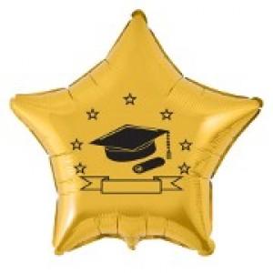 Balão Metalizado - Formatura Dourado