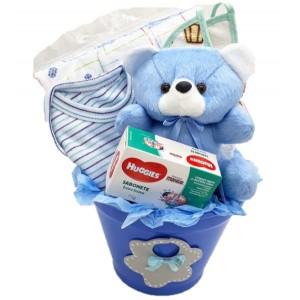 Balde do Bebê Azul