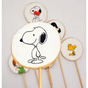 Biscoito decorado Snoopy