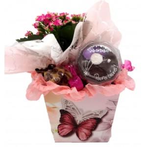 Caixa Aniversário Florido