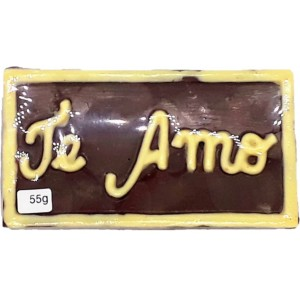 Placa de chocolate - Te Amo