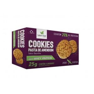 Cookie de Pasta de Amendoim com Whey Protein 25g