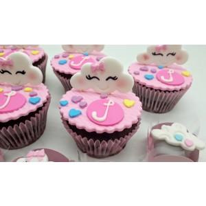Cupcake Chuva de Amor
