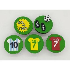 Cupcake Futebol
