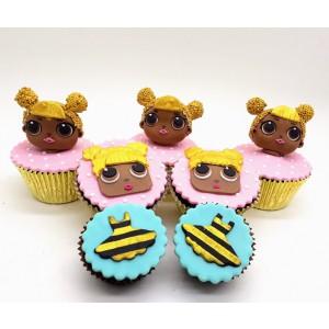 Cupcake 3D médio LOL