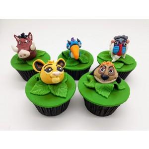 Cupcake Rei Leão