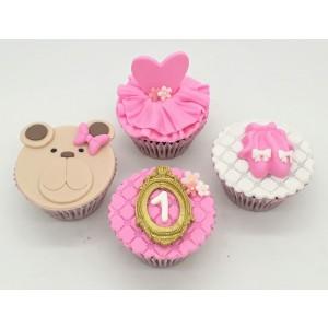 Cupcake Ursa Bailarina