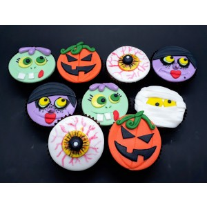 Mini Cupcake Halloween