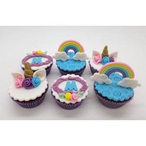 Mini Cupcake Unicórnio