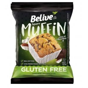 Muffin sem glúten e sem lactose 40g