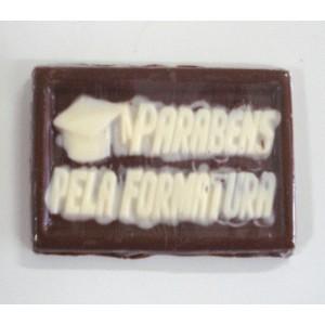 Cartão de chocolate - Parabéns pela Formatura