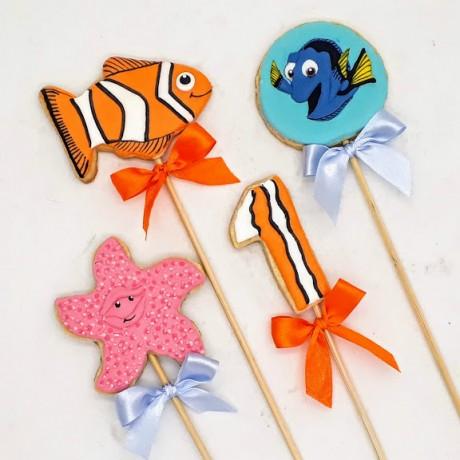 Biscoito Procurando Nemo