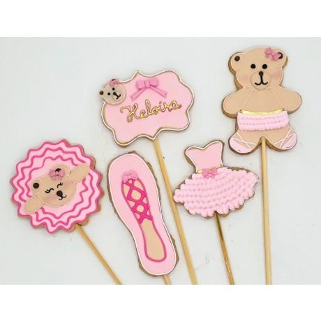 Biscoito Ursa Bailarina