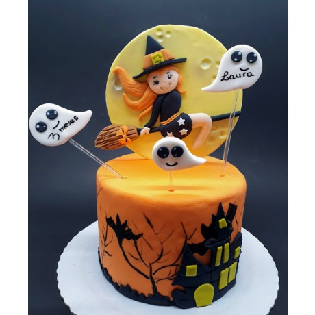 mini bolo Halloween