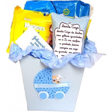 Caixa Bebê Azul
