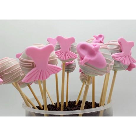 Cake pop Bailarina