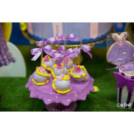 Cake Pop Rapunzel
