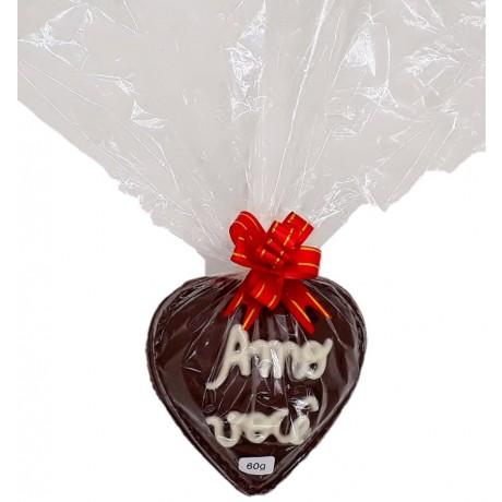 Coração de chocolate