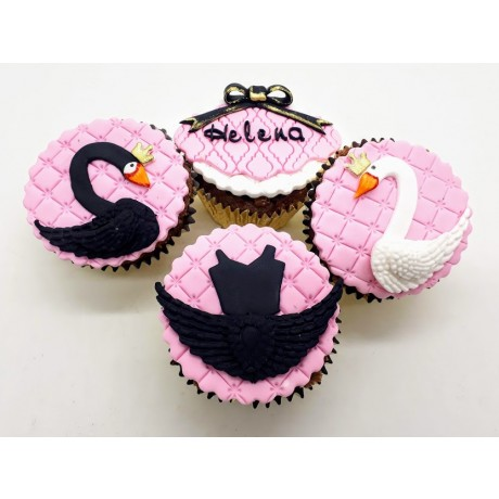 Cupcake Cisne Negro