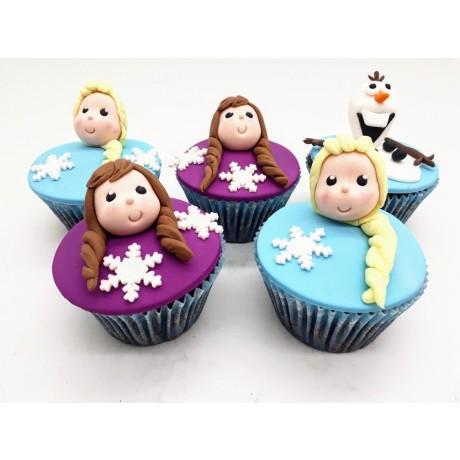 Cupcake Frozen 3D