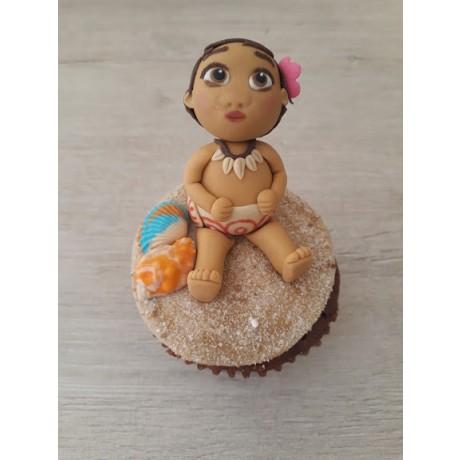 Cupcake 3D Moana