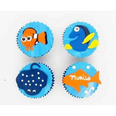 Cupcake Nemo