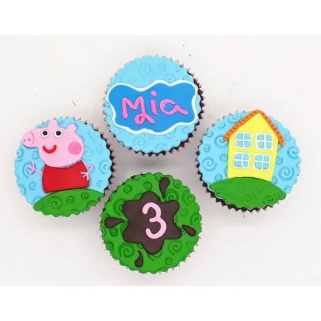 Cupcake Peppa Pig