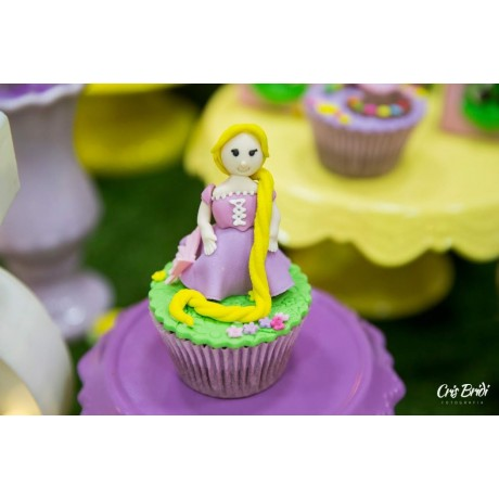 Cupcake 3D Rapunzel