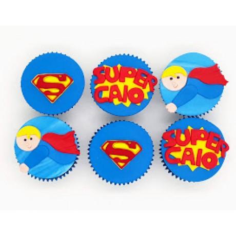Cupcake Super Homem