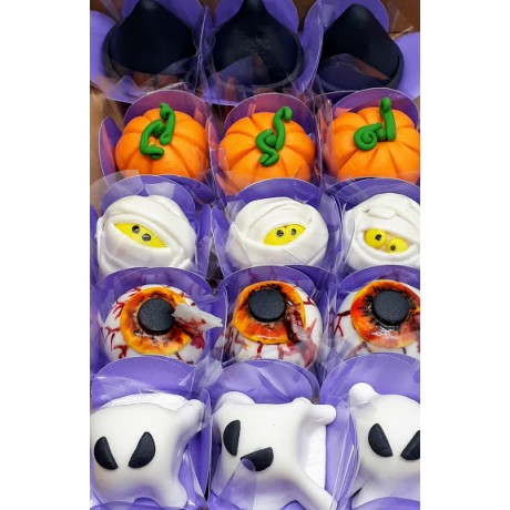 Docinhos modelados Halloween