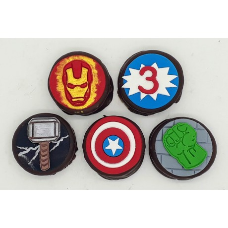 Mini Alfajor Vingadores
