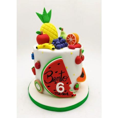 Mini Bolo Frutas