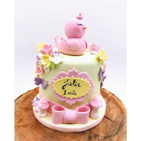 Mini bolo passarinho