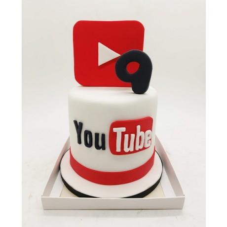 Mini bolo You Tube