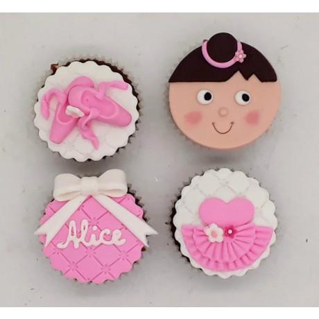 Mini Cupcake Bailarina