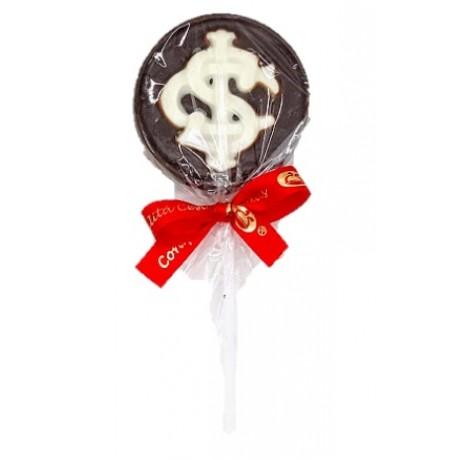 Pirulito de Chocolate do Inter