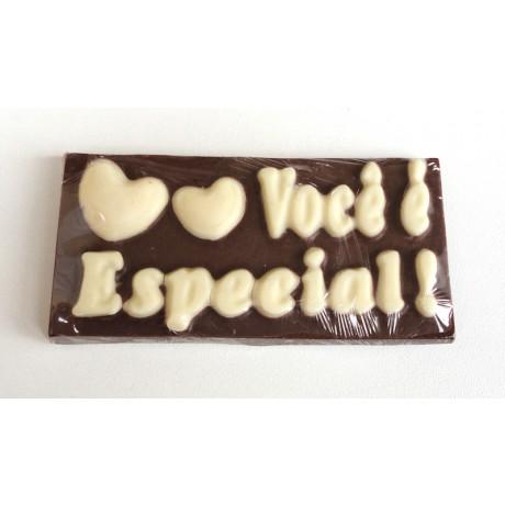 Placa de chocolate - Você é Inesquecível