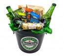 Balde de Cerveja Heineken - Preta